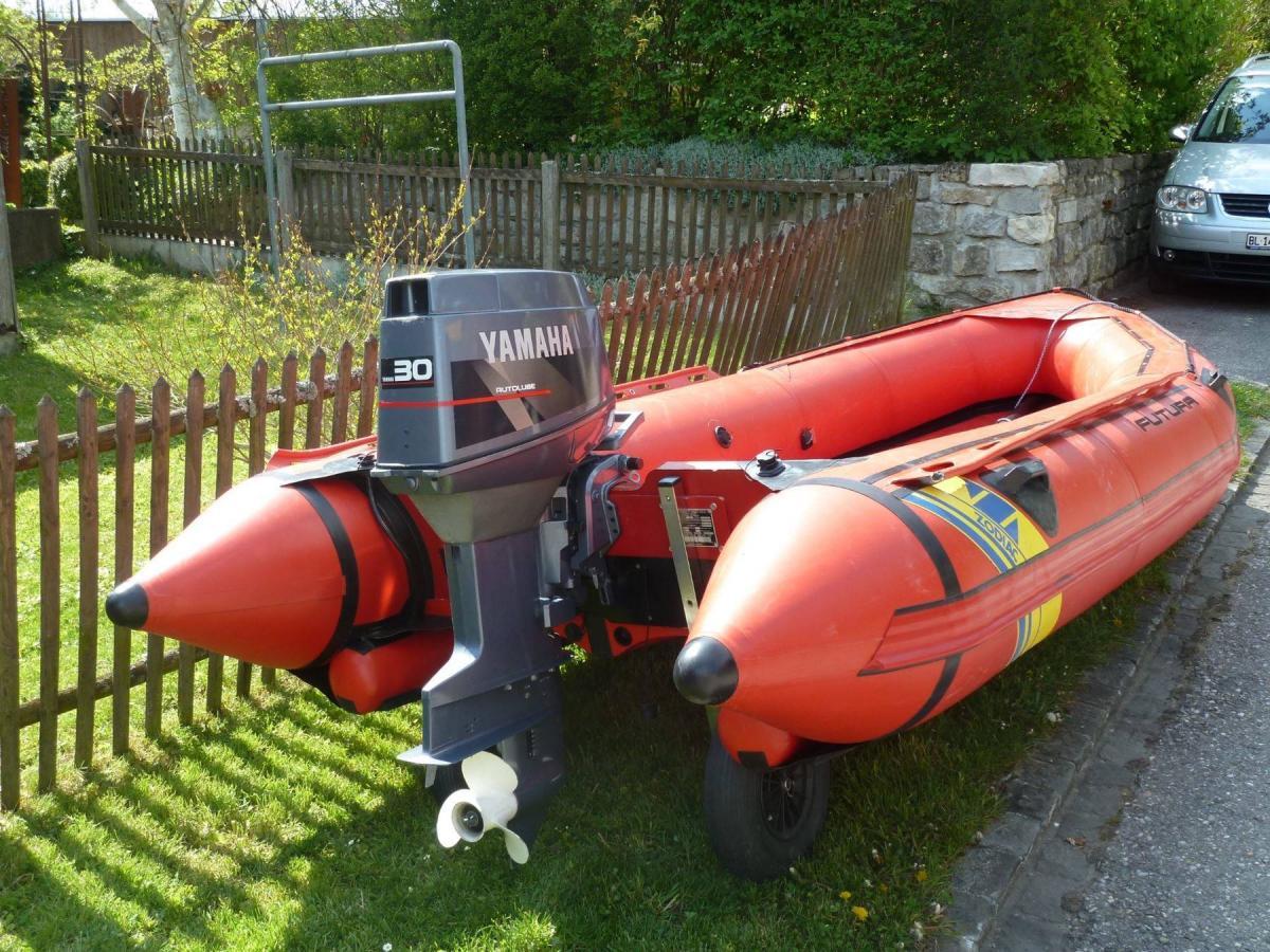 Vintage Zodiac Futura MK2 Sport 4 2m outboard choices