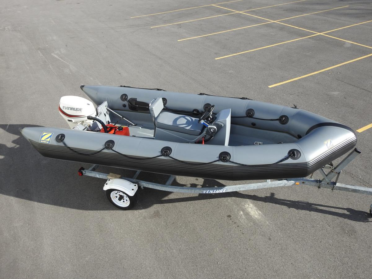 For Sale Zodiac MilPro 4 7M with ETEC 50hp $18,624 00