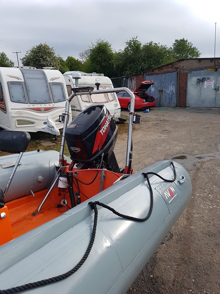 For Sale Tohatsu 50hp PTT + Electric Start  2006 Outboard