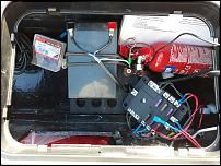 Click image for larger version  Name:WIRING PULLED THROUGH WITH FUSE BOX UNDONE [2].jpg Views:62 Size:154.2 KB ID:122524