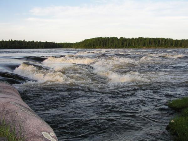 Click image for larger version  Name:Rapids at Lamprey Falls - high water.jpg Views:93 Size:78.3 KB ID:12746