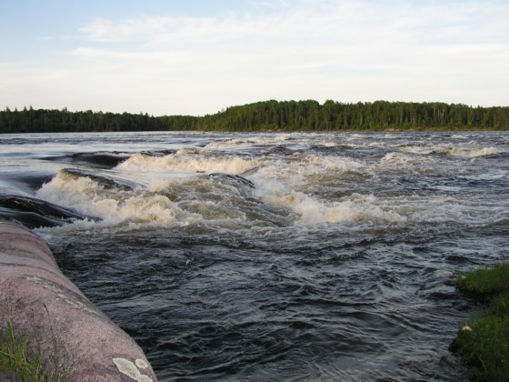 Click image for larger version  Name:Rapids at Lamprey Falls - high water.jpg Views:157 Size:68.4 KB ID:25037