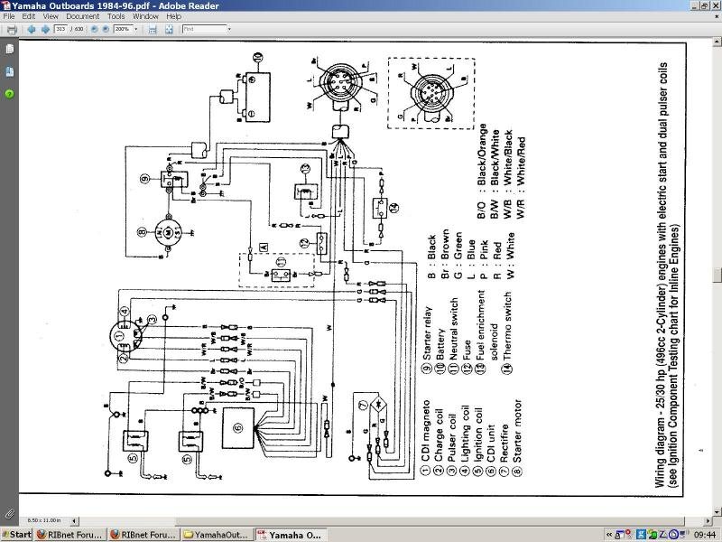 Yamaha 703 Remote Control Box Wiring Diagram Wiring Solutions