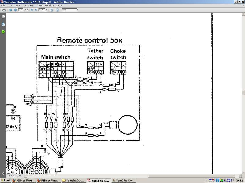 Yamaha Outboard Control Wiring Diagram from www.rib.net