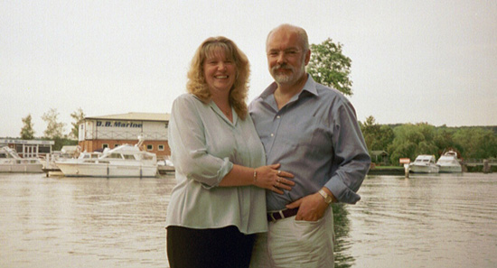 Click image for larger version  Name:Kim & Chris at Cookham 2002.jpg Views:200 Size:77.7 KB ID:5075