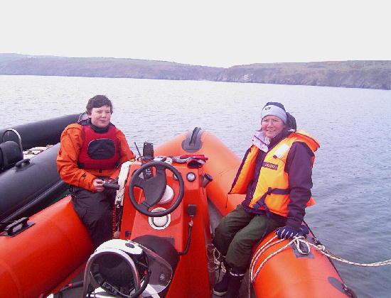 Click image for larger version  Name:Sean and  mum at Aberdaron.jpg Views:440 Size:50.5 KB ID:5144