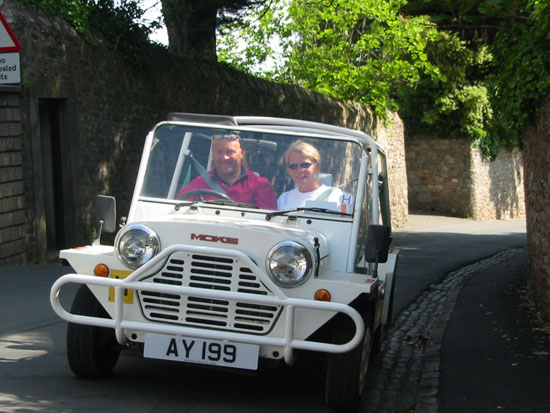 Click image for larger version  Name:Ald AY & Kathryn Mini Moke.JPG Views:455 Size:69.6 KB ID:6362