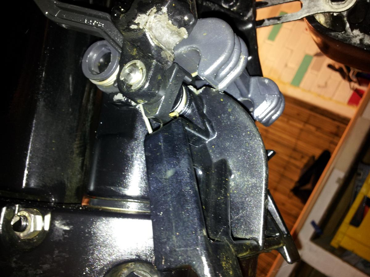 Mercury 25HP Shallow Drive Lever - RIBnet Forums