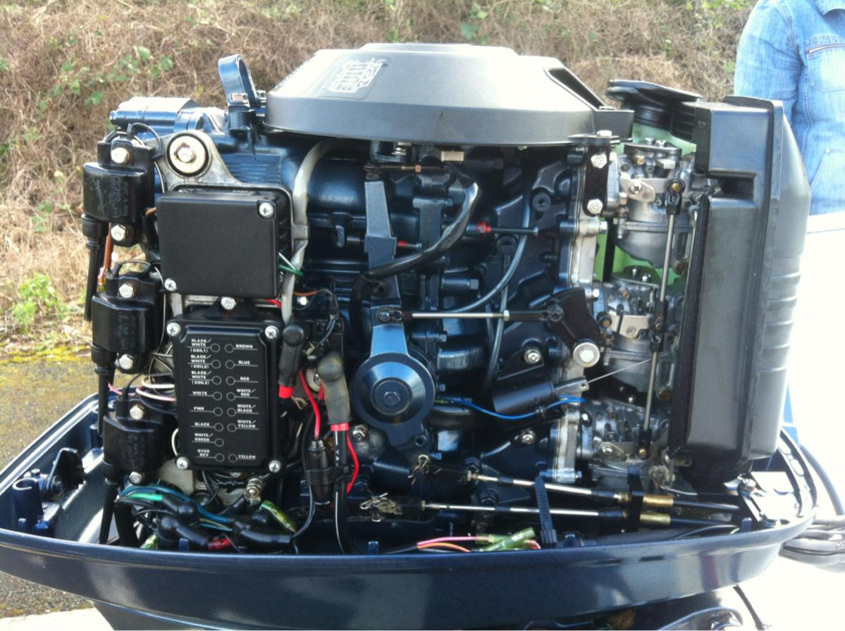 For Sale Yamaha 90hp 2 Stroke Outboard £1,995 - RIBnet Forums