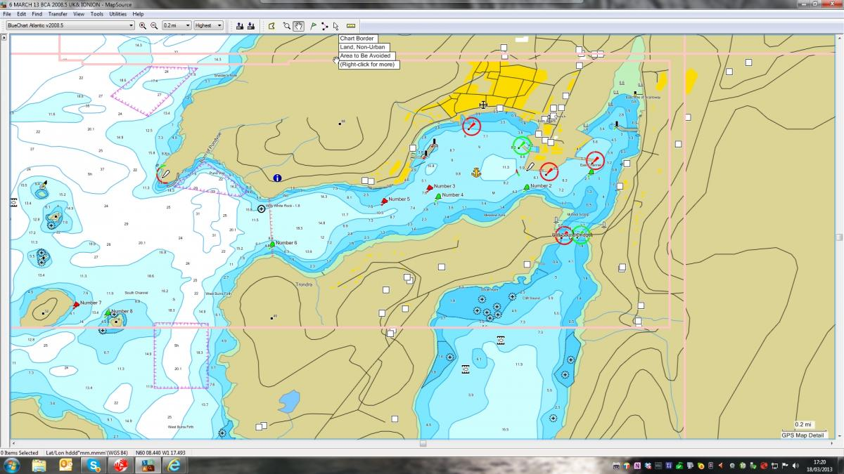 Click image for larger version  Name:Bluechart 2008.5 Scalloway approaches.jpg Views:210 Size:129.8 KB ID:77730