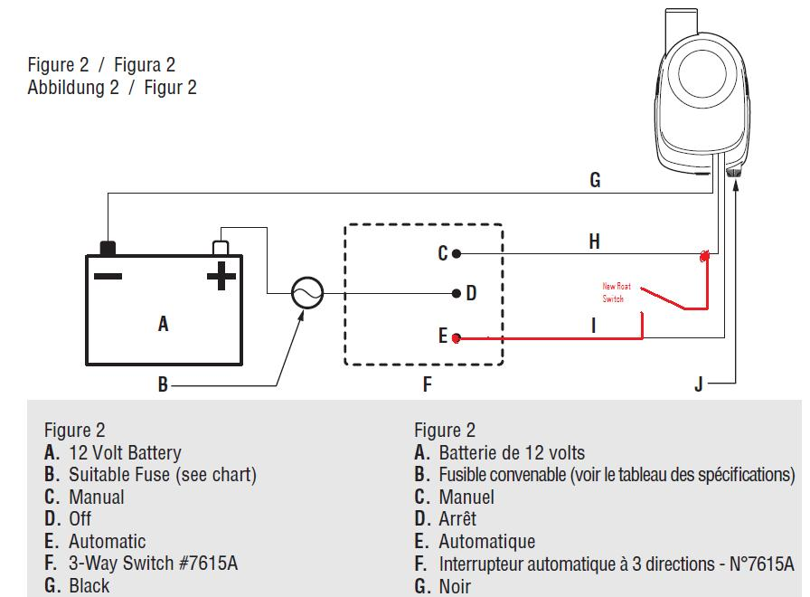 2 float switch wiring diagram wiring diagram bilge float switch inop after blue sea add a battery installation