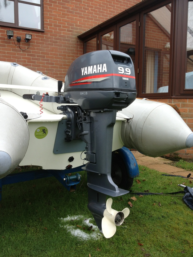 For Sale Yamaha 9 9 2 Stroke Outboard - Brilliant Condition - RIBnet