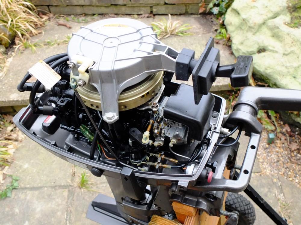 Лодочный мотор тохатсу 4 такта обкатка