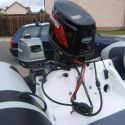 2010 Ribcraft 4.8m Professional Engine and Fuel Tank Information