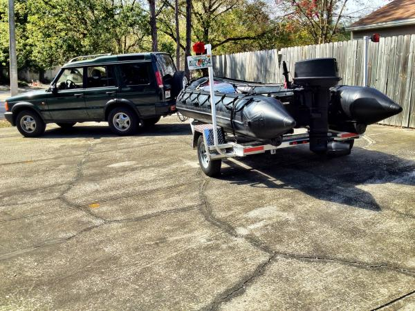 New custom trailer from Owens & Sons out of Saint Petersburg, FL.