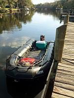 On the Hillsboro River, Tampa, FL.