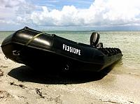 Beach landing. Gulf of Mexico.