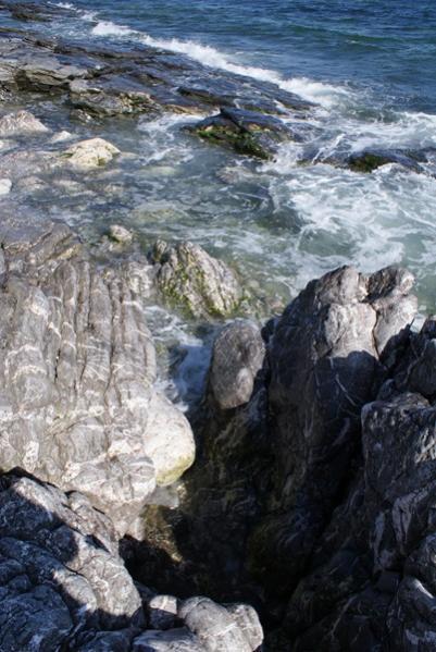 Rocks at Hook head