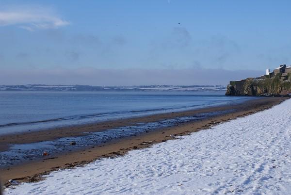 Duncannon Beach in colder months