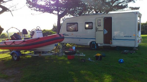 boat caravan