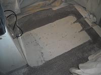 non slip gelcoat removed