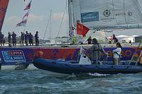 Clipper RTW race Finish