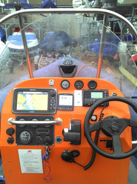 Helm and nav kit - includes HD radar