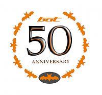 BAT LOGO 50TH ANNIVERSARY (logo design by selene SARI)