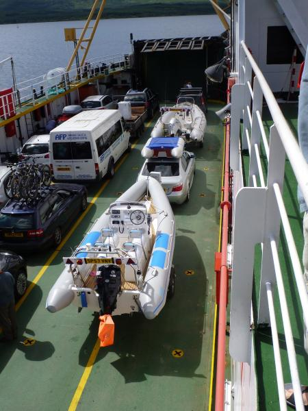 Ferry between Lochaline and Fishnish