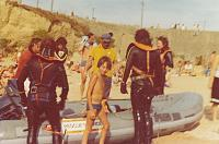 1970s me and LFB Divers