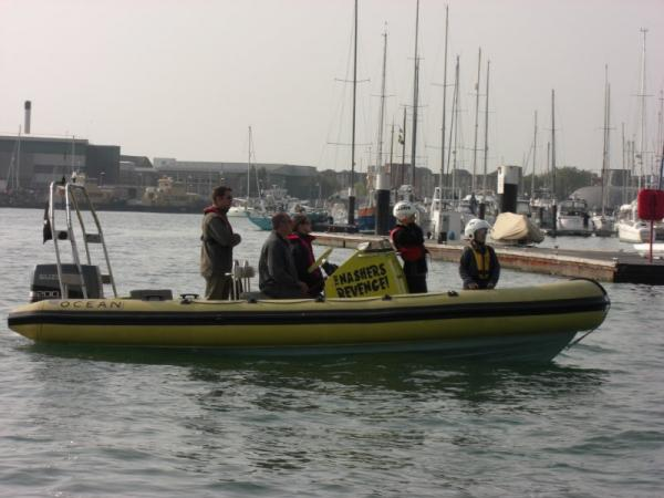 Start of Ribnet cruise in Pompey harbour.