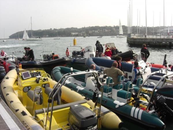 Rafted in Cowes, not Yarmouth