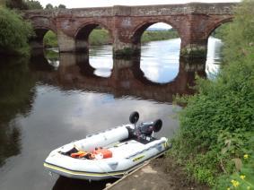 River Dee, Farndon