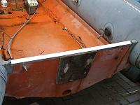 New transom top (aluminium channel)