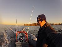 Early mornig fishing. Dana Point California