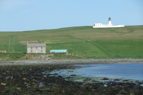 Farmhouse and lighthouse