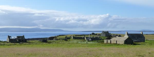 General view north island with Hoy in the background