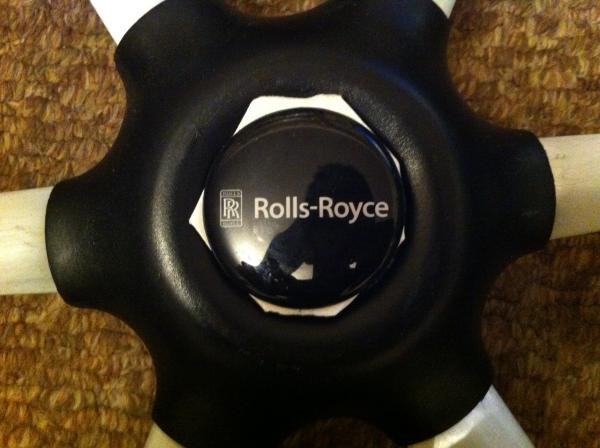 Rolls-Royce Steering Wheel