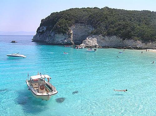 antipaxoi Ionian sea