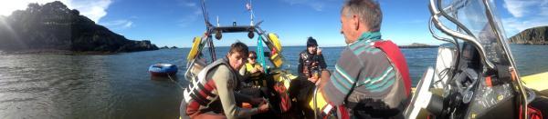 Off the North Devon Coast  Sat 6th Oct 12 (A)