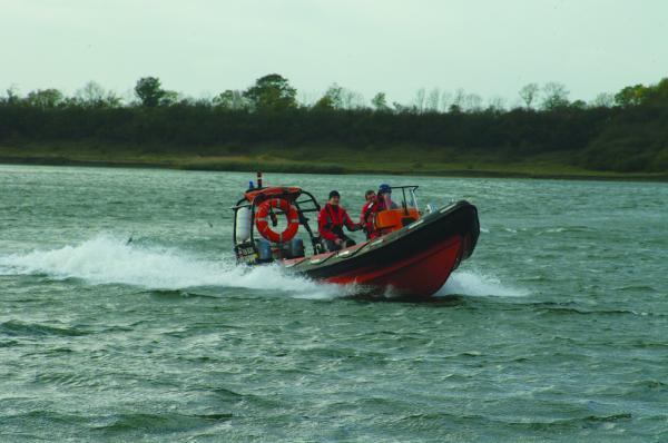 Delta Rib with twin 90 Jet drives, for the MoD