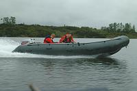 Avon CCRC, trials for New Mariner twin 30hp. 2007