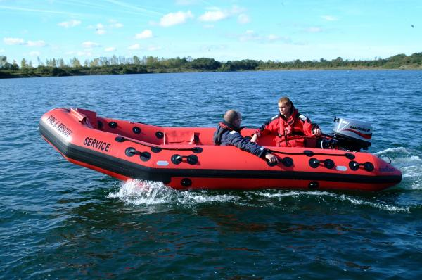 Hereford Fire Service acceptance trails, Eurocraft with Mariner 30hp. 2007