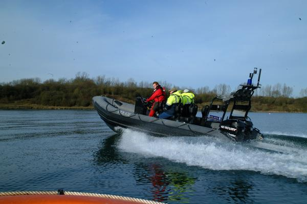 Essex Police Arctic 22 after Refit, Twin Mercury 115 Optimax. 2008