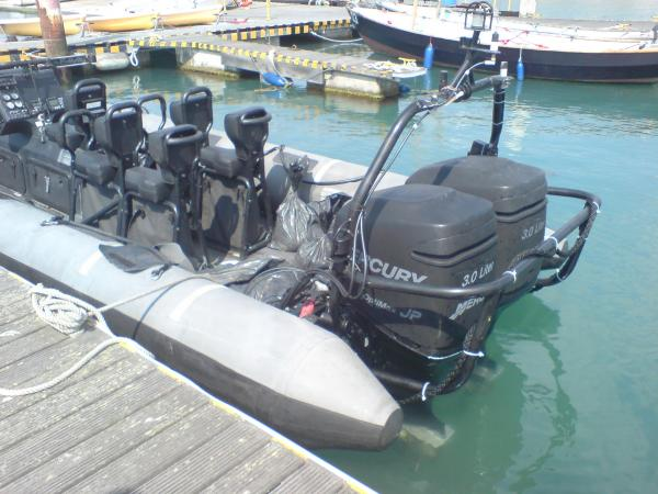 More Non petrol burning engine testing, this time on an MoD Arctic 24. August 2008