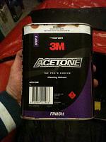 zodic MK2 acetone