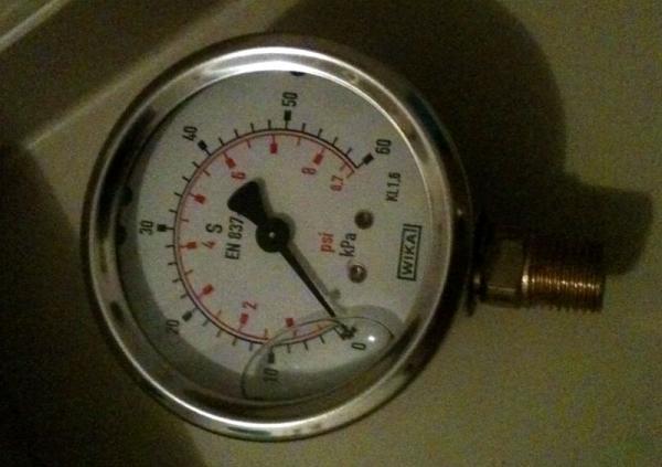 zodic MK2 gauge