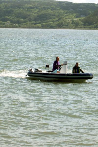 maiden voyage with 55hp mariner
