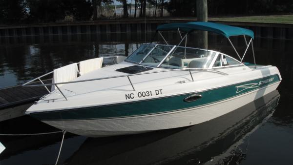 Our hard boat .