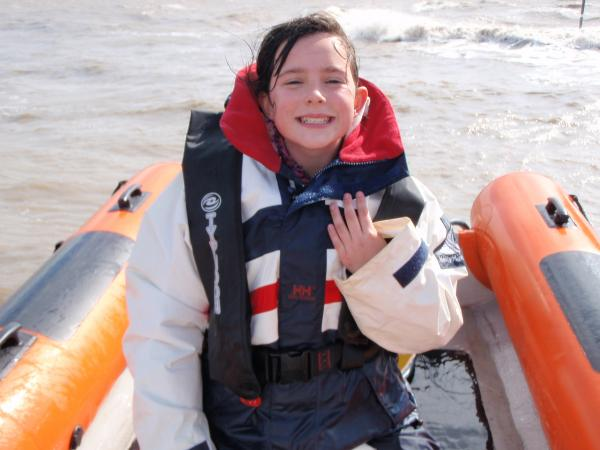 Weston super Mare.... Kids love boats